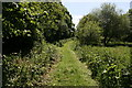SJ4057 : Footpath near the River Dee by Jeff Buck