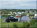 SX0040 : Camping at Treveague Farm by David Smith