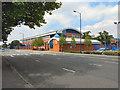 SJ9398 : Ashton Police Headquarters, Manchester Road by David Dixon