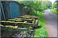 SK1166 : Abandoned Trailer, Hurdlow Town Farm by Mick Garratt