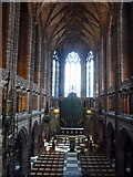 SJ3589 : Liverpool: inside the Anglican cathedral by Chris Downer