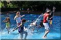 SS9412 : Tiverton : Westexe Rec Paddling Pool by Michael Wilson