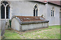 TQ5498 : St Thomas the Apostle, Navestock - Vault by John Salmon