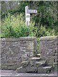 NZ2115 : Stile on the Teesdale Way by Maigheach-gheal