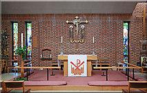 TQ3377 : St George, Coleman Road, Camberwell - Sanctuary by John Salmon