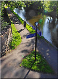 SD4763 : Lancaster Canal from Beaumont Bridge by Ian Taylor