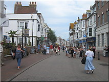 SY6778 : Shopping Street, Weymouth by Alex McGregor