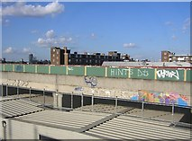 TQ2976 : Former Channel Tunnel link viaduct, Battersea by Christopher Hilton