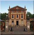 TQ3183 : Former London Fever Hospital, Islington by Julian Osley