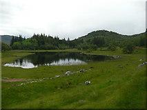 NN6795 : Lochain Uvie by Russel Wills
