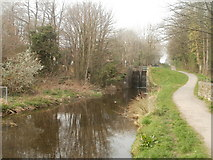ST2896 : One of the Five Locks, Cwmbran by Jaggery