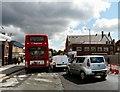 SJ9098 : Metrolink Roadworks in Droylsden by Gerald England