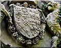 J4582 : Dufferin and Ava coat of arms, Helen's Bay by Albert Bridge