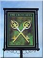 NZ1716 : Sign for the Cross Keys by Maigheach-gheal
