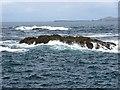 NM3135 : Skerry off Staffa by Richard Webb