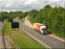 SU6252 : Basingstoke ring road by Given Up