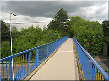 SU6252 : Footbridge over the ring road by Given Up