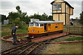 TG3018 : Turntable at Wroxham Bure Valley Railway station by Glen Denny