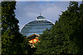 TQ2989 : Domed glass roof, Palm Court, Alexandra Palace by Julian Osley