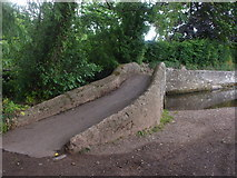 SS9843 : Gallox Bridge, Dunster by John Lord