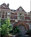 TQ5912 : Ruined building, Hellingly Hospital by nick macneill