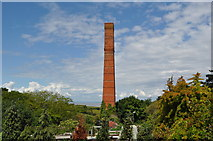 ST0642 : Watchet Paper Mill Chimney by Ashley Dace