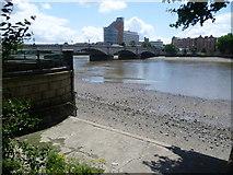 TQ2475 : Putney Bridge from Bishop's Park by Marathon