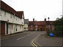 TM0855 : Barrett's Lane Needham Market by Chris Holifield
