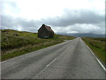 NH1379 : Fain, an abandoned cottage by Destitution Road by Dave Fergusson