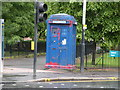 NS6065 : Police Box, Cathedral Square by Keith Edkins