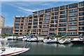SU6305 : Apartments and Berthing Pontoons - Port Solent by Colin Babb
