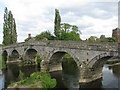 SJ5409 : The old bridge at Atcham by Sarah Charlesworth
