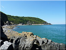SN2552 : Cribach Bay from the SE by Richard Law