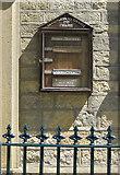 SE7485 : Sinnington Methodist Chapel notice board by Pauline E