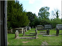 TQ3632 : Churchyard at West Hoathly seen from church porch by Shazz