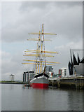 NS5565 : Tall Ship Glenlee by Keith Edkins
