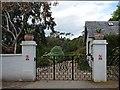 NG8681 : Entrance gates at Inverewe Garden by Robin Drayton