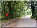 TM2456 : Debach Road & Debach Road Postbox by Adrian Cable