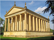 SP6737 : The Temple of Concord and Victory by Trevor Rickard