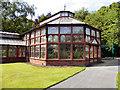 SJ9598 : John Nield Conservatory, Stamford Park by David Dixon
