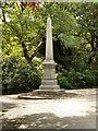 SJ9598 : Stamford Park, Joseph Raynor Stephens Memorial by David Dixon