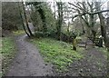 SE2432 : Old road junction, Farnley by Humphrey Bolton
