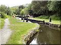 SD9701 : Huddersfield Narrow Canal, Lock 12W by David Dixon
