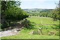 SD7049 : Gate and stile near Meanley by Bill Boaden
