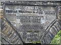 NZ4113 : Inscription on Yarm Viaduct by Pauline E