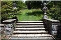 """SH7971 : Steps near """"The Poem"""" in Bodnant Garden by Jeff Buck"""