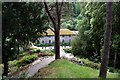 SH7972 : View of the Old Mill at Bodnant Garden by Jeff Buck