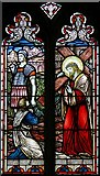 TL1589 : St Mary, Stilton - Stained glass window by John Salmon