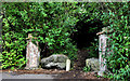 J2766 : Disused gateway, Lambeg by Albert Bridge