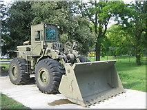 TQ7668 : Military Bulldozer by David Anstiss